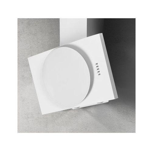Afrelli Okap naścienny nova biały 90 cm, 428 m3/h