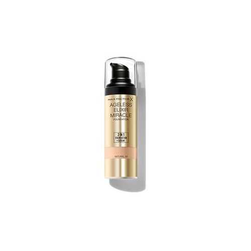 Max Factor Ageless Elixir make up odcień 50 Natural SPF 15 (2 in 1 Foundation + Serum) 30 ml (5013965995309)