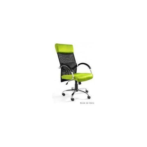 Krzesło biurowe overcross zielone marki Unique meble