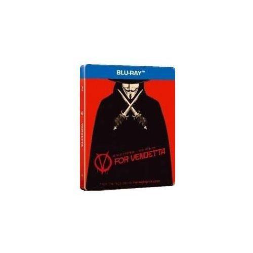 V jak Vendetta (Steelbook) (Blu-ray) - James McTeigue DARMOWA DOSTAWA KIOSK RUCHU. Najniższe ceny, najlepsze promocje w sklepach, opinie.