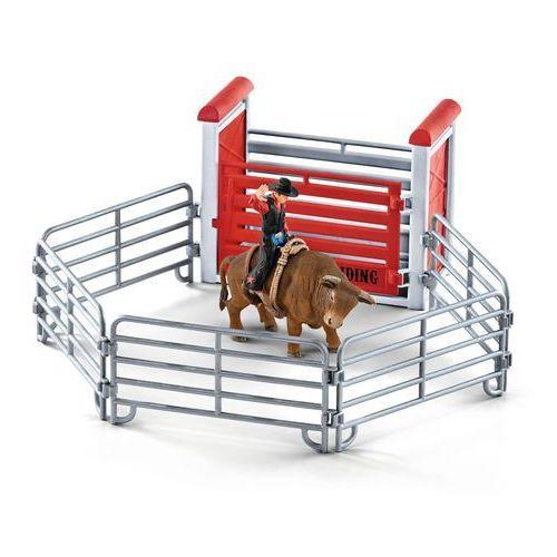 Kowboj ujeżdżający byka - Schleich, 5_603465