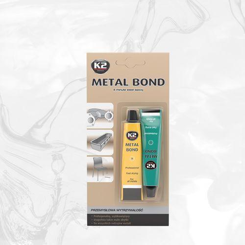 METAL BOND klej epoksydowy do łączenia metali o przemysłowej wytrzymałości - 56,7g (5906534009609)