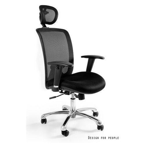 Fotel Ergonomiczny Expander kółka do dywanów czarny