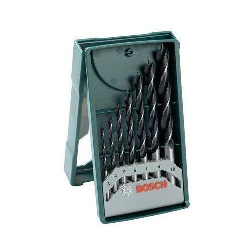 Bosch_elektonarzedzia Zestaw wierteł do drewna bosch x-line 3-10 mm (7 elementów) (3165140430296)