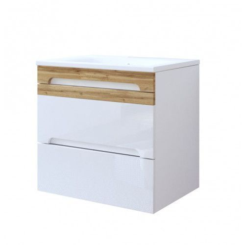 COMAD GALAXY WHITE Szafka podumywalkowa 2S 60, kolor biały