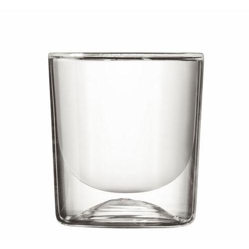 Szklanka z podwójnymi ściankami Guzzini Gocce 270 ml 2 szt, 22300100-M