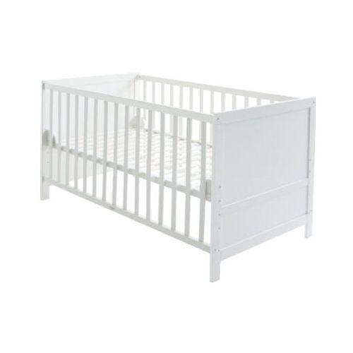 Roba  łóżeczko dziecięce lene białe + szczeble na materac (4005317273570)