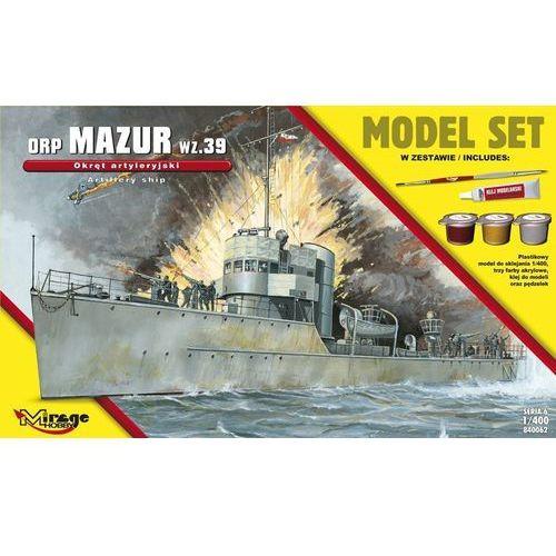 "Mirage Okręt artyleryjski orp ""mazur"" (5901463840620)"
