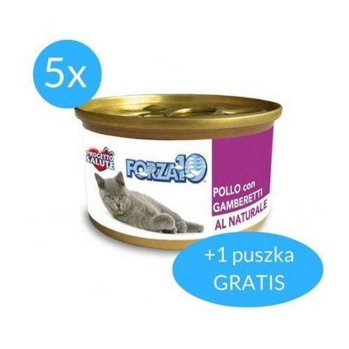 Forza10 Maintenance dla kota 5x75g + 75g GRATIS (450g): smak - kurczak z krewetkami DOSTAWA 24h GRATIS od 99zł
