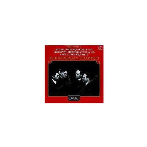 Beethoven L / Mozart W - Streichquart. E K 458, Op. 18 / 6 Etc.