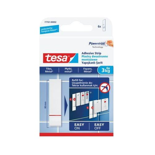 Tesa Plastry mocujące dwustronne smart mounting system tesa