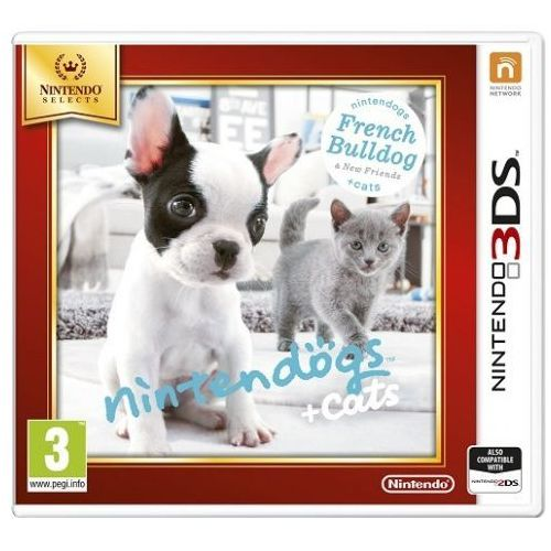 Gra Nintendo Nintendogs + Cats French Bull & new Friends Select 3DS 2DS (0045496528638)