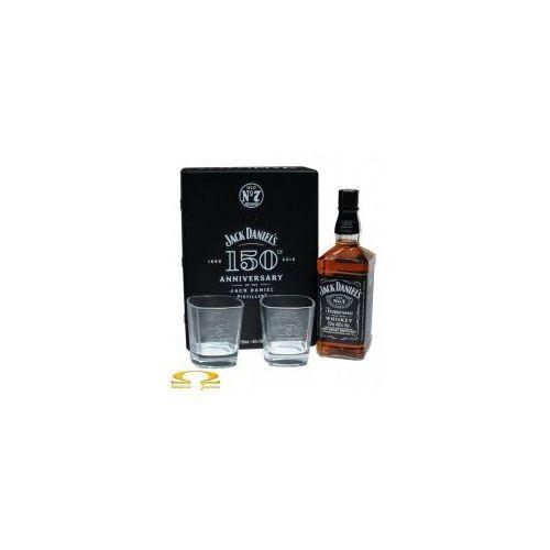 Whiskey Jack Daniel's zestaw prezentowy ze szklankami puszka 0,7l