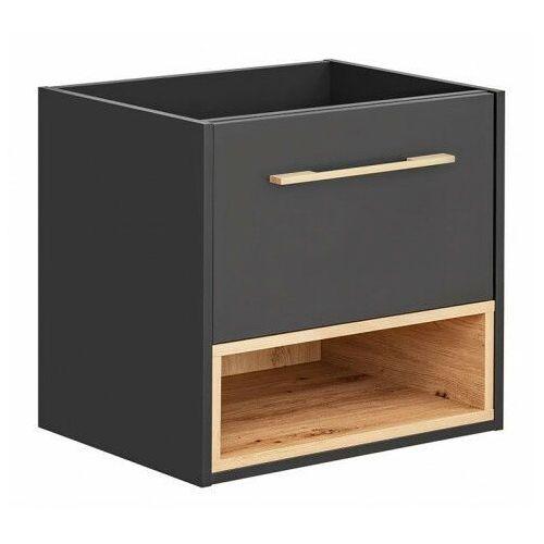 Podwieszana szafka łazienkowa pod umywalkę - Ketris 3X 60 cm, BORNEO-COSMOS-820