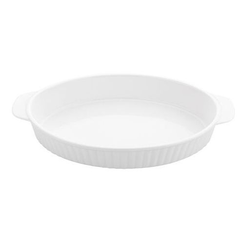 Florina Ceramiczna miska do zapiekania owalna, 30 cm, biały