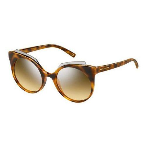 Okulary Słoneczne Marc Jacobs MARC 105/S N36/GG, kolor żółty