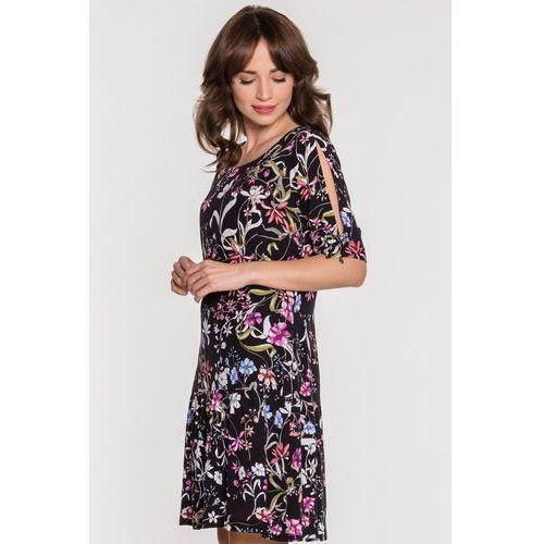 Zwiewna sukienka w kwiaty - marki Sobora