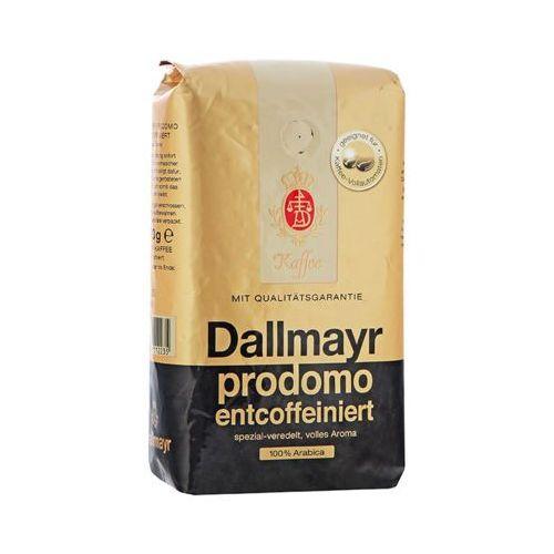 500g prodomo entcoffeiniert niemiecka kawa ziarnista bezkofeinowa import marki Dallmayr