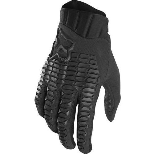Fox defend rękawiczki mężczyźni, black/black xxl 2019 rękawiczki mtb