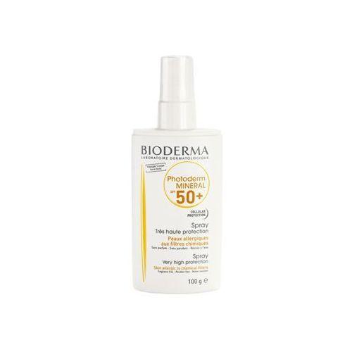 Bioderma Photoderm Mineral spray mineralny do opalania SPF 50+ (Face/Body) 100 ml (3401598588593)