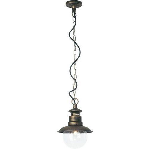 Brilliant Artu zewnętrzna lampa wisząca Czarny, 1-punktowy, 46970/86