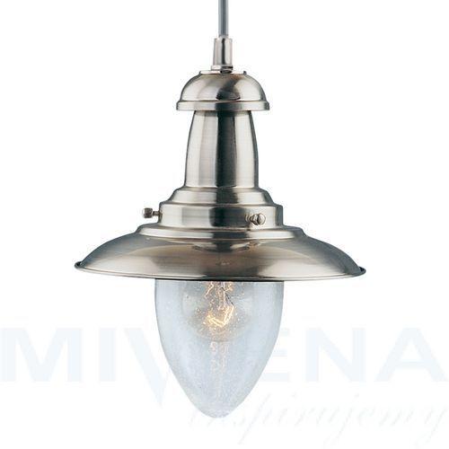 Searchlight Fisherman lampa wisząca 1 stal szkło (5013874224002)