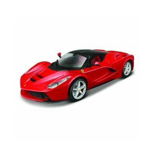 Model metalowy Ferrari La Ferr. czerwony 1:24 do składania