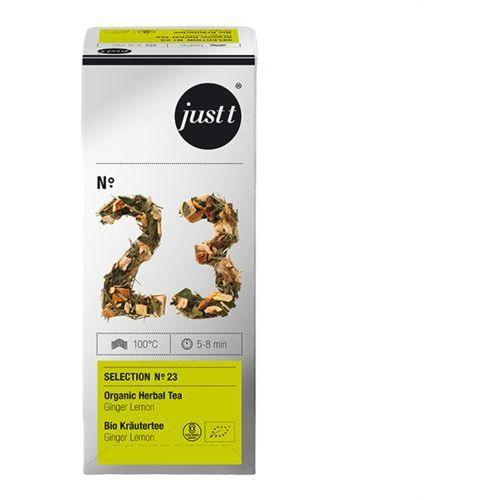 Herbata Just T No.23 Ginger Lemon- 25 x 2,5g