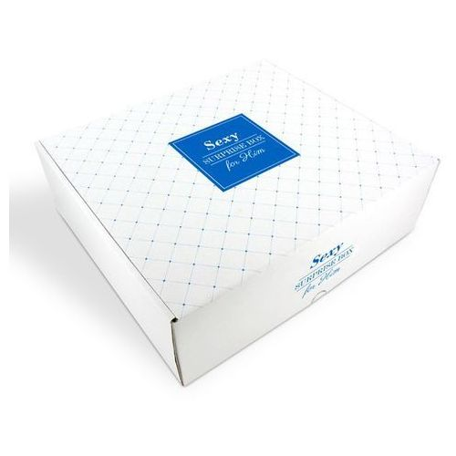 Zestaw prezentów sexy surprise gift box - for him marki Surprise gift boxes