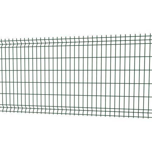 Betafence Panel ogrodzeniowy 3d 123 x 250 cm oczko 5 x 20 cm drut 4 mm ocynk zielony (5412298359930)
