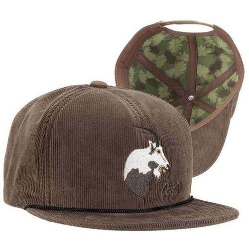 czapka z daszkiem COAL - The Wilderness Olive (Goat) (02) rozmiar: OS