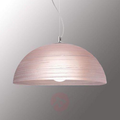 Ręcznie zdobiona lampa wisząca MODESTO antycz. róż (5201769059062)