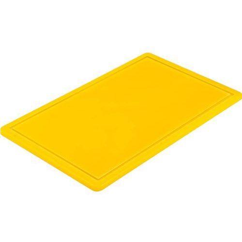 Deska HACCP żółta GN 1/2