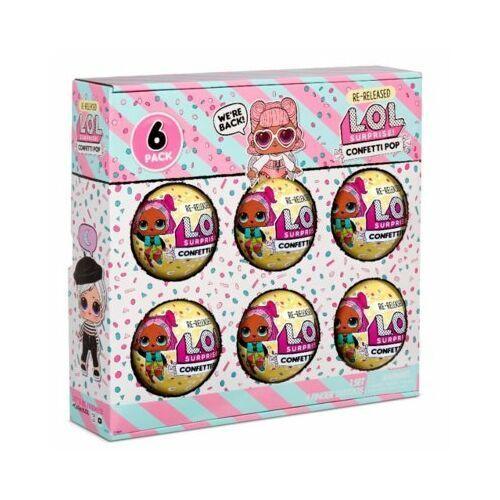 L.O.L. Surprise Figurki 6-pak confetti, Angel