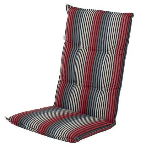 Doppler poduszka na krzesło London szara/czerwona (9003034134292)