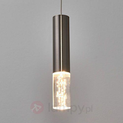 Honsel 1-punktowa lampa wahadłowa led bubble (4001133678919)