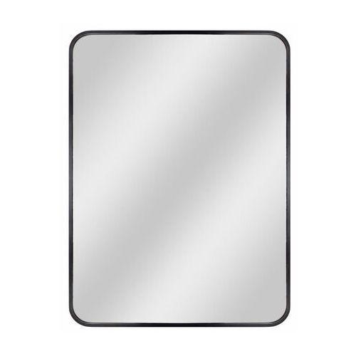 Dubiel vitrum Lustro prostokątne nico 50 x 70 cm w ramie czarne (5905241007854)