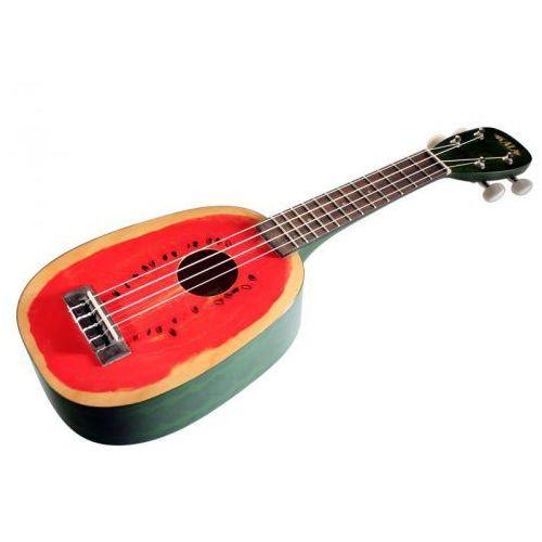Kala Mahogany Watermelon ukulele sopranowe z pokrowcem