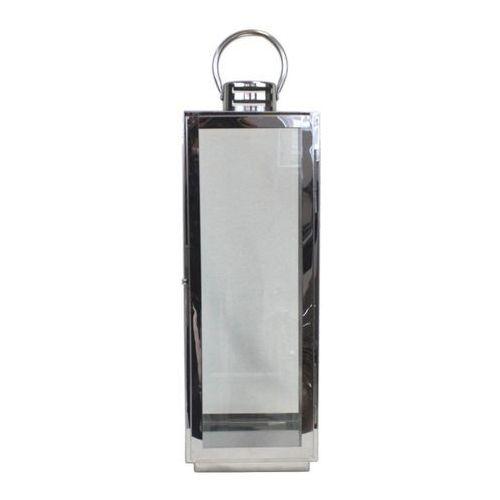 Latarnia metalowa Silver 61 cm