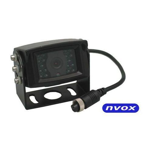 OKAZJA - NVOX GDB2095 Samochodowa kamera cofania 4PIN CCD2 SHARP w metalowej obudowie 12V 24V (5901867720924)