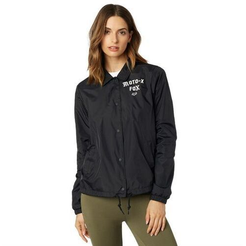 kurtka FOX - Pit Stop Coaches Jacket Black (001) rozmiar: M, kolor czarny
