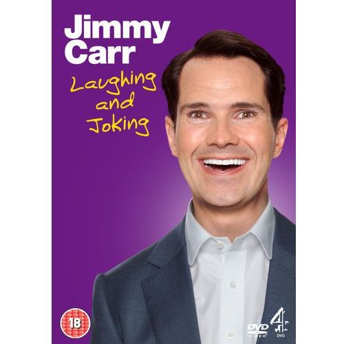 Jimmy carr live: laughing and joking, marki Channel 4