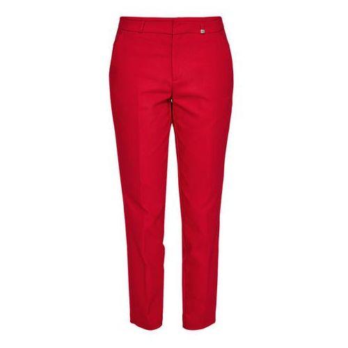 s.Oliver spodnie damskie 40 czerwony, kolor czerwony