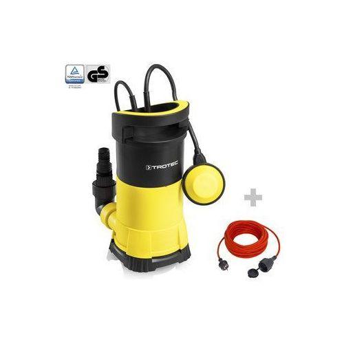 Trotec Pompa zanurzeniowa do wody czystej twp 7505 e + przedłużacz jakościowy 15 m / 230 v / 1,5 mm²