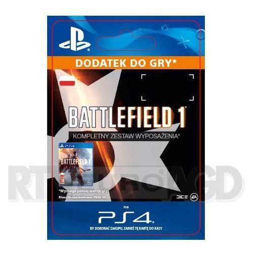 Battlefield 1 - Kompletny Zestaw Wyposażenia [kod aktywacyjny], SCEE-XX-S0029148