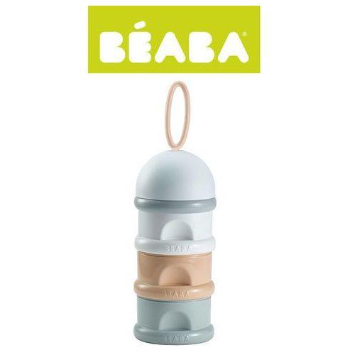 BEABA 3-komorowy pojemnik na mleko w proszku - Nude - produkt z kategorii- Butelki dla dzieci