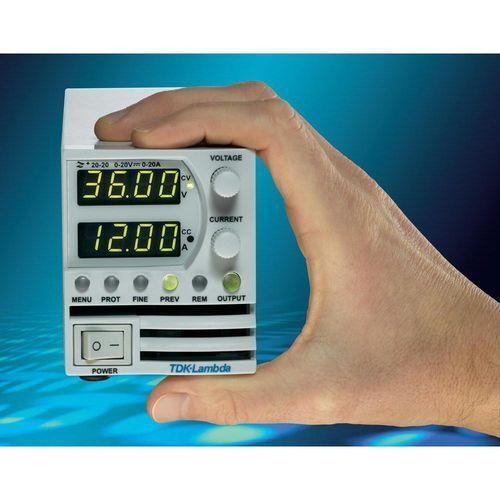 Zasilacz laboratoryjny regulowany TDK-Lambda Z-20-20, 400 W, 0 - 20 V/DC, 0 - 20 A