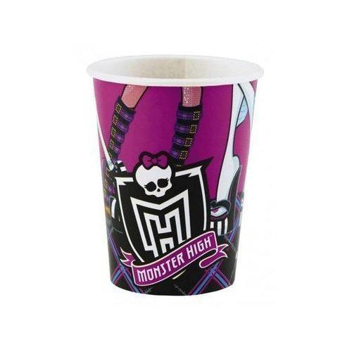 Kubeczki urodzinowe Monster High - 250 ml - 8 szt.