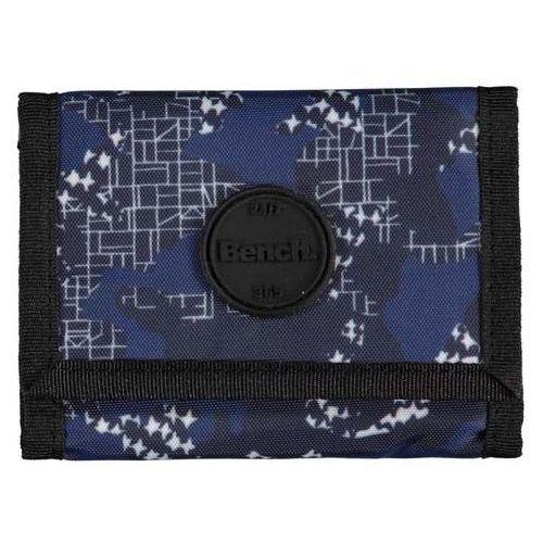 Bench - aop tri-fold wallet b version dark navy blue (ny031) rozmiar: os