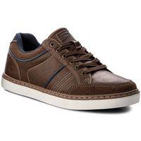 Sneakersy gino - mp07-16976-04 brązowy marki Lanetti